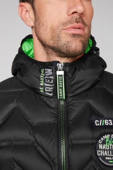 Péřová bunda CCB-2055-2285 Black|M - 6
