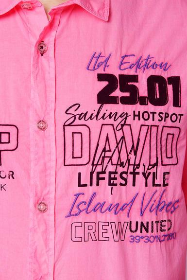 Košile CCU-2000-5548 neon pink|XXL - 6