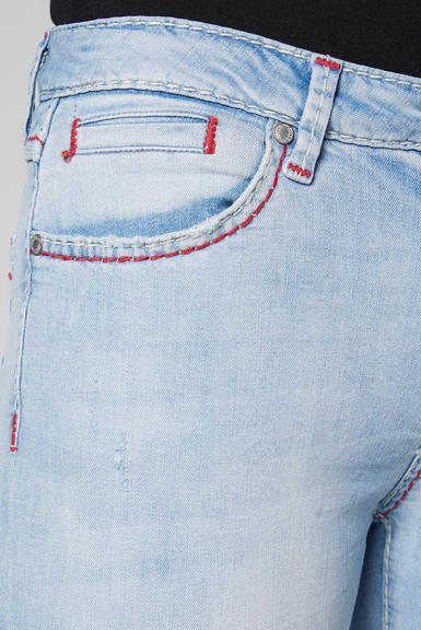 Džínové 3/4 kalhoty SDU-2000-1868 sunny bleached|28 - 6