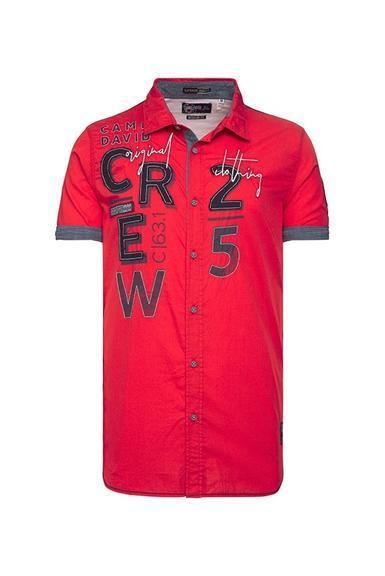 Košile CCB-1907-5838 Royal Red|M - 6