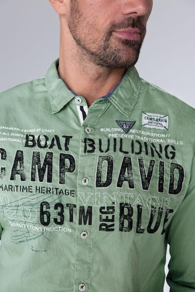 Košile CCB-1909-5030 Ocean Green|S - 6