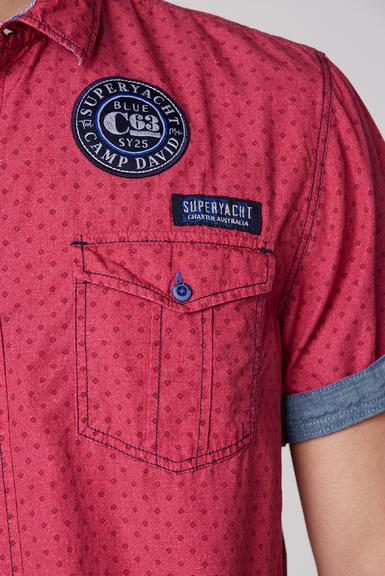 Košile CCB-2006-5079 Yacht Red|L - 6