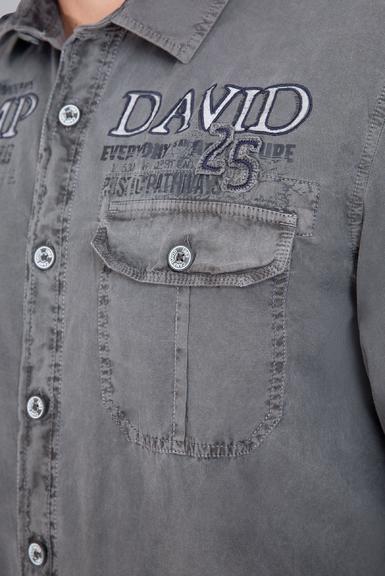 Košile CCG-1908-5064 fossil grey|S - 6