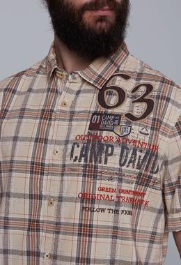 shirt 1/2 chec CCG-1911-5461 - 6/7