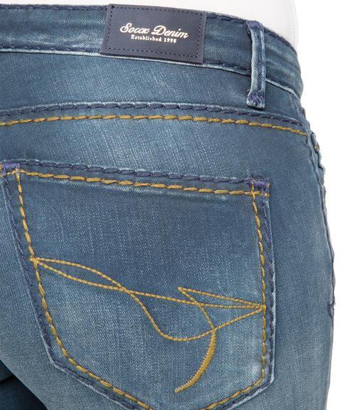 Džíny SDU-1855-1303 indigo vintage|26 - 6