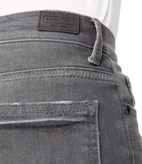 Džíny SDU-1855-1307 grey cut vintage|26 - 6
