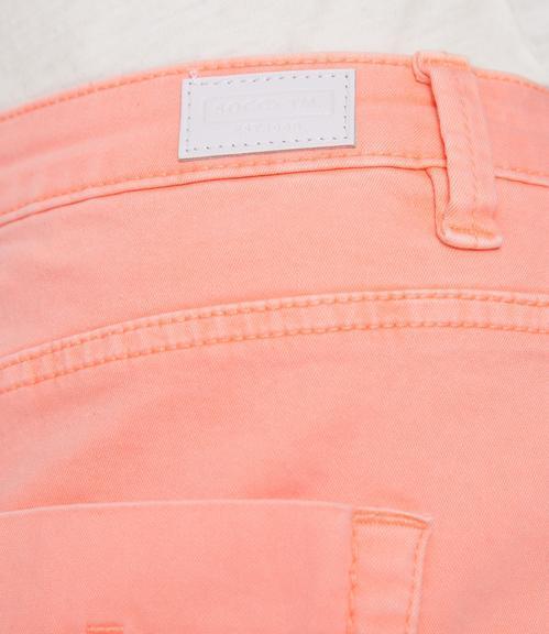 Džínová sukně SDU-1900-7392 intense orange S - 6