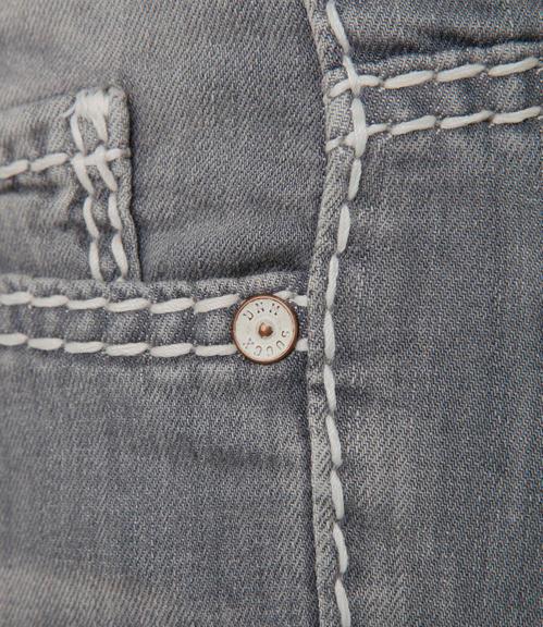 Světlé džíny se sepraným efektem|31 - 6