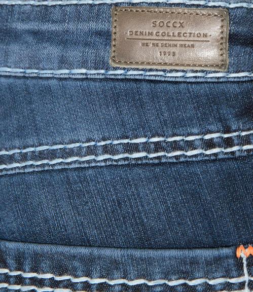 Džíny Regular Fit SDU-9999-1705 vintage dark used|27 - 6