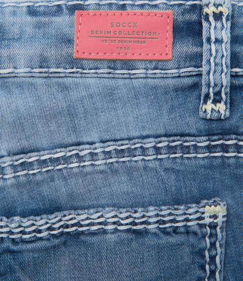 Džíny Comfort Fit SDU-9999-1898 Used Stone|30 - 6