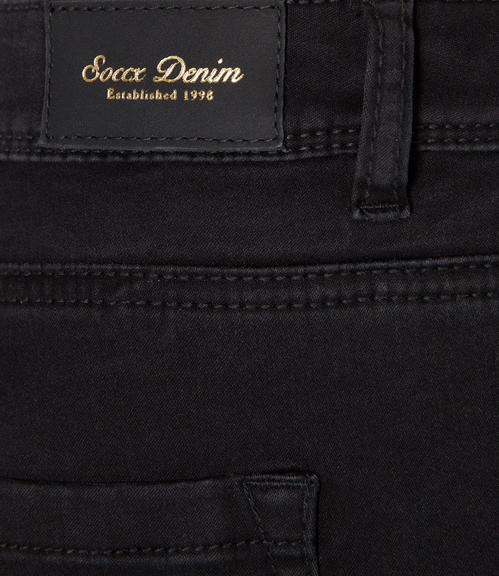 Slim Fit Jeans SDU-9999-1912 Black|25 - 6