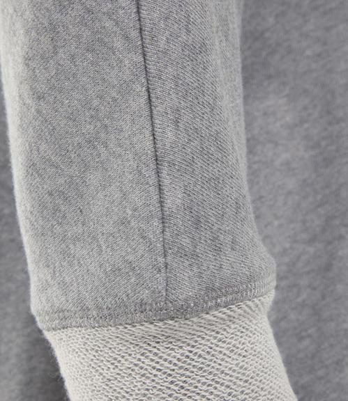 Mikina 3/4 rukáv SPI-1710-3639 grey melange|XL - 6