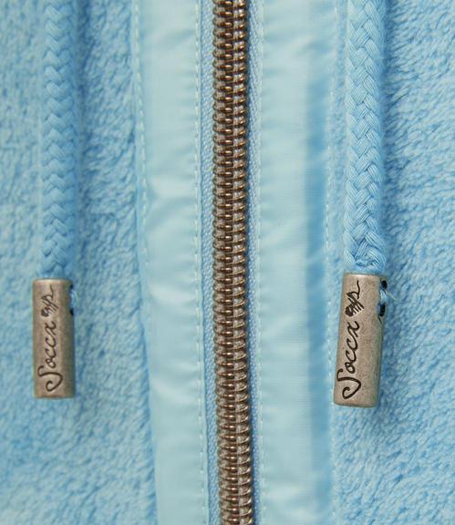 Flísová mikina SPI-1710-3643 cold blue|XXL - 6