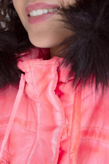 Parka SPI-1955-2337 neon rosa|XXL - 6