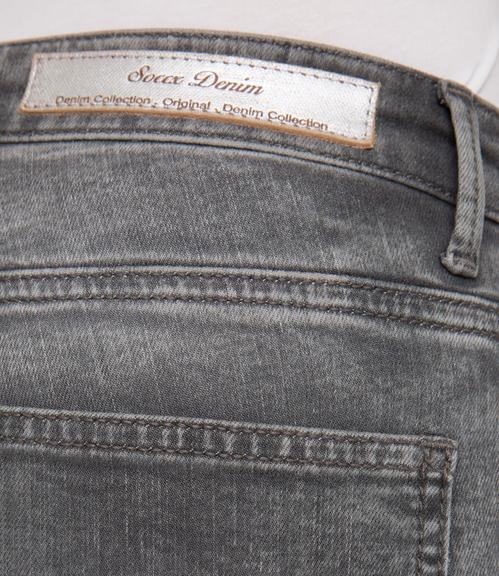 Slim Fit Jeans STO-1801-1149 grey used|26 - 6