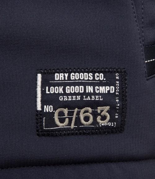 Bunda s kapucí CCG-1801-3053 true navy|XXXL - 6