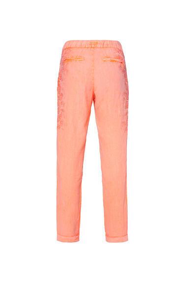 Plátěné kalhoty STO-2004-1853 desert beige/spicy orange|S - 6