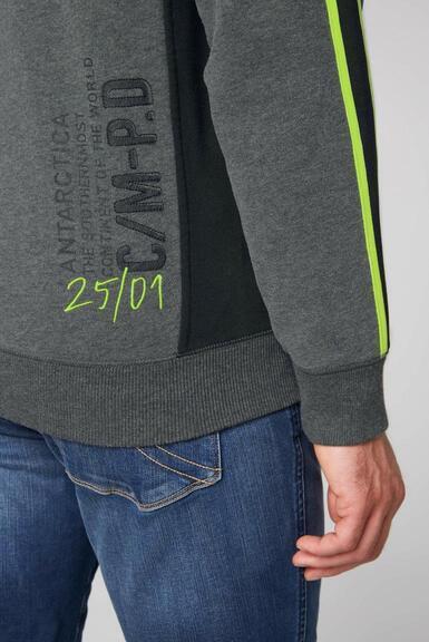 Mikina CB2108-3210-21 anthra melange|XL - 7