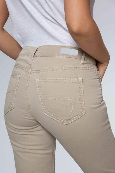 Džínové kalhoty SDU-1900-1455 beige|31 - 7