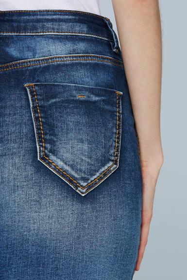 Džínová sukně SDU-2000-7838 dark blue used|M - 7