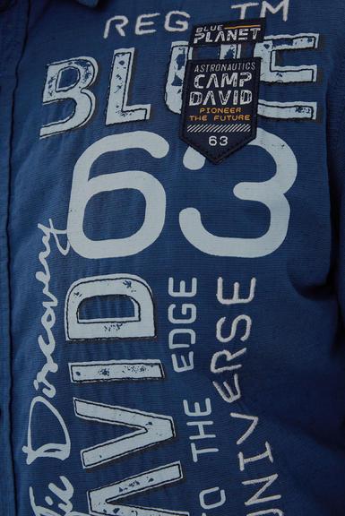 Košile CCB-1908-5009 space navy|S - 7