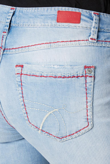 Džínové 3/4 kalhoty SDU-2000-1868 sunny bleached|30 - 7