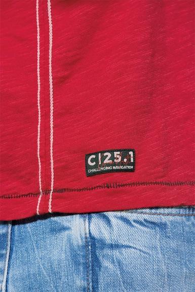 Tričko CCB-1907-3830 Royal Red|S - 7