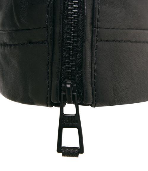 Kožená bunda CHS-1801-2016 black|XXL - 7