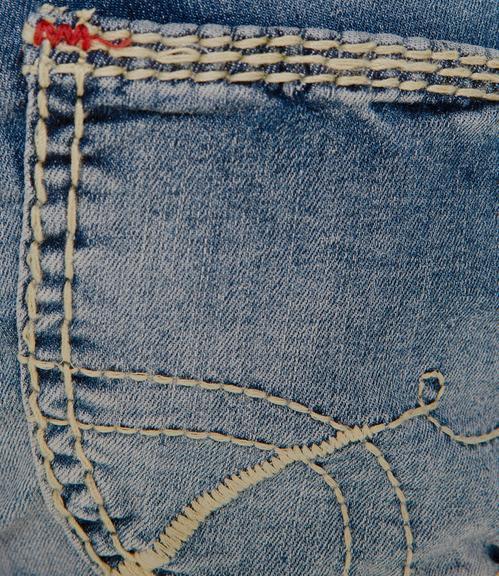 Džíny SDU-1855-1373 blue vintage|33 - 7