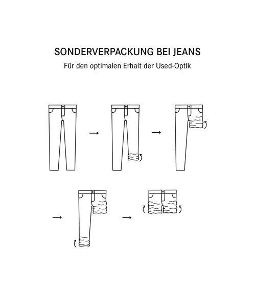 Slim Fit Jeans SDU-9999-1710 Vintage Used|26 - 7