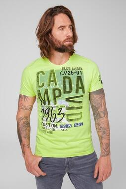Tričko CB2108-3200-33 neon lime
