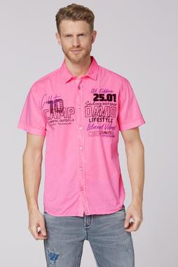 Košile CCU-2000-5548 neon pink