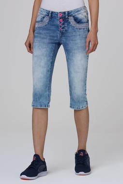 Džínové 3/4 kalhoty SDU-2000-1834 ocean blue