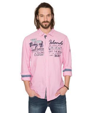 Košile CCB-1806-5629 Pink