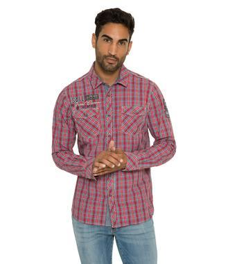 Košile CCB-1809-5777 royal red