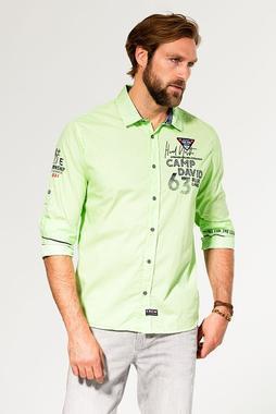 Košile CCB-1907-5848 Signal Green
