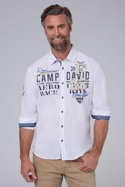 Košile CCB-1911-5410 opticwhite