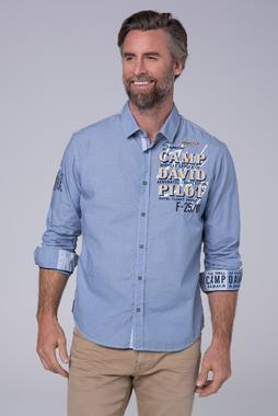 Košile CCB-1911-5412 sky blue