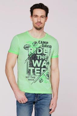 Tričko CCB-2003-3654 kiwi green
