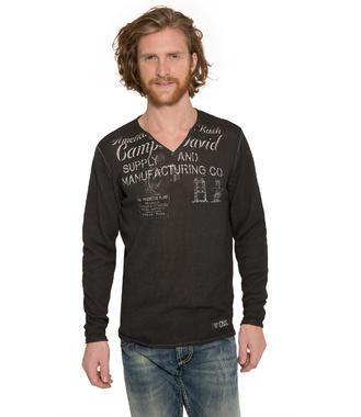 Ležérní černý svetr