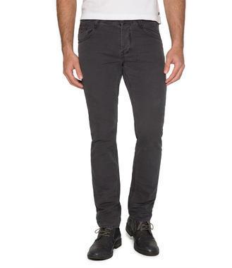 tmavě hnědé kalhoty