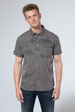 Košile CCG-1907-5802 brown mud