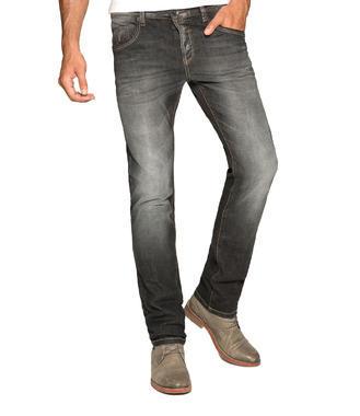 Tmavě šedé džínové kalhoty