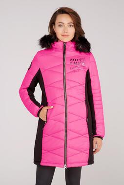 Kabát SP2155-2299-33 knockout pink