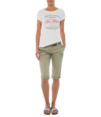 khaki capri kalhoty Soccx Tropical Traveler