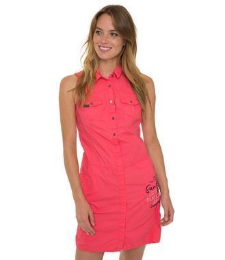 šaty SPI-1804-7215 pink coral
