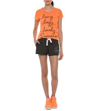 oranžové tričko Soccx on the Beach