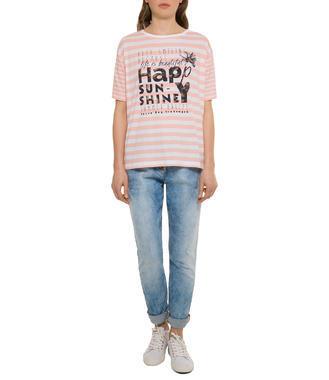 Růžové tričko happy sunshine