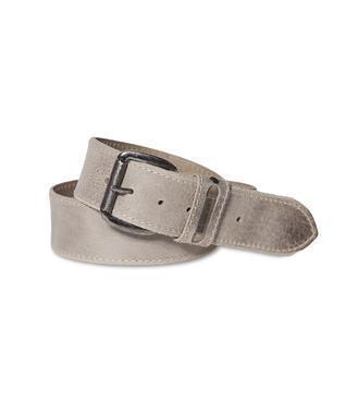 Kožený pásek 999-6112 beige