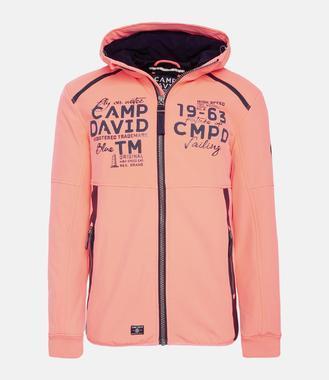 Softshellová bunda CCB-1811-3076 neon flame